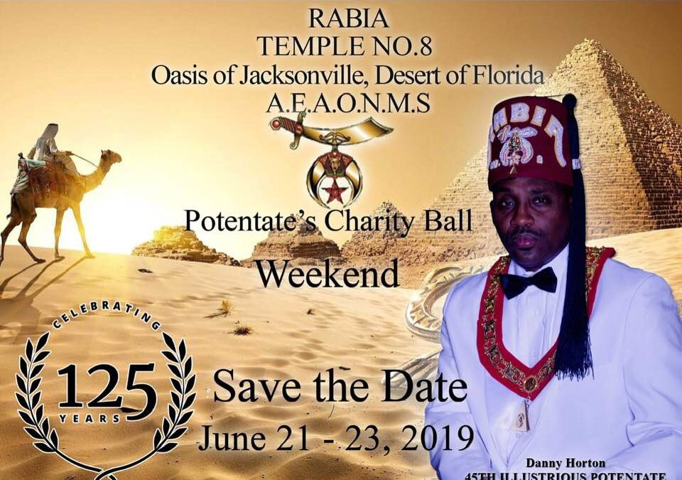 Rabia Temple No. 8 – Potentate's Charity Ball