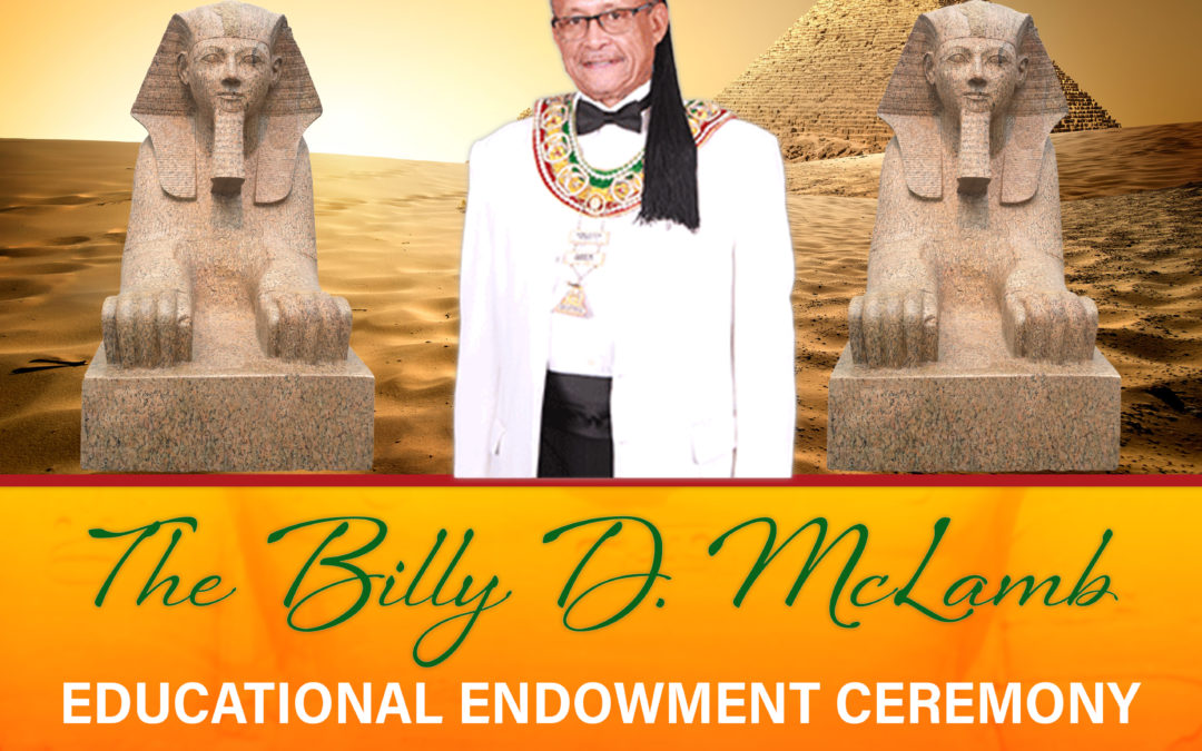 Billy McLamb Educational Endowment Ceremony