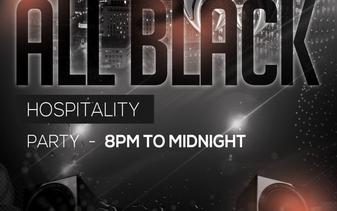 Saba Hospitality Black Party